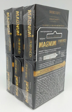 Condoms Personal Care Trojan Magnum Ribbed Welcome To Gl Trading